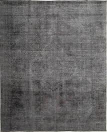 Colored Vintage Teppich  289X358 Echter Moderner Handgeknüpfter Dunkelgrau/Hellgrau Großer (Wolle, Persien/Iran)