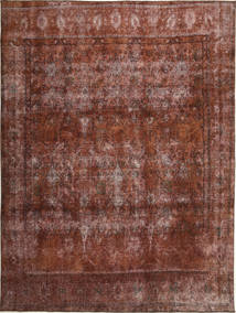 Colored Vintage Alfombra 283X381 Moderna Hecha A Mano Marrón Claro/Rojo Oscuro Grande (Lana, Persia/Irán)