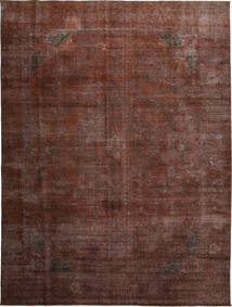 Colored Vintage Rug 284X379 Authentic  Modern Handknotted Light Brown/Dark Red/Dark Brown Large (Wool, Persia/Iran)