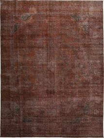 Colored Vintage Teppe 284X379 Ekte Moderne Håndknyttet Lysbrun/Mørk Rød/Mørk Brun Stort (Ull, Persia/Iran)