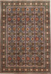 Varamin Patina Szőnyeg 200X287 Keleti Csomózású Világosbarna/Sötétszürke (Gyapjú, Perzsia/Irán)