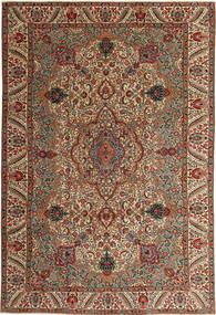 Tabriz Patina Rug 217X323 Authentic  Oriental Handknotted Light Brown/Dark Red (Wool, Persia/Iran)