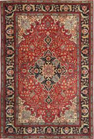 Tabriz Patina Matto 205X305 Itämainen Käsinsolmittu Tummanpunainen/Tummanruskea (Villa, Persia/Iran)