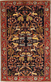Bakhtiari Patina Rug 160X277 Authentic  Oriental Handknotted Dark Red (Wool, Persia/Iran)