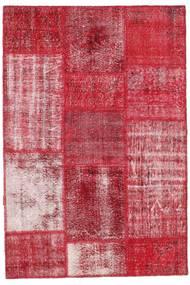 Patchwork Szőnyeg 122X181 Modern Csomózású Piros/Rozsdaszín (Gyapjú, Törökország)