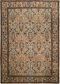 Tabriz Patina Rug 238X338 Authentic  Oriental Handknotted Brown/Light Brown (Wool, Persia/Iran)