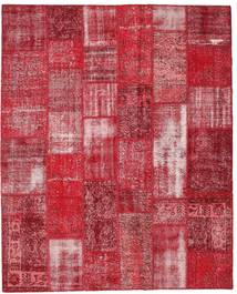 Patchwork Rug 202X250 Authentic  Modern Handknotted Crimson Red/Rust Red (Wool, Turkey)