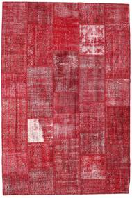 Patchwork Rug 203X302 Authentic  Modern Handknotted Crimson Red/Rust Red (Wool, Turkey)