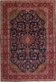 Hamadan Patina Rug 210X315 Authentic  Oriental Handknotted Dark Red/Black (Wool, Persia/Iran)