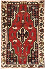 Saveh Patina Teppe 77X125 Ekte Orientalsk Håndknyttet Mørk Rød/Mørk Brun (Ull, Persia/Iran)