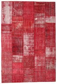 Patchwork Tapis 203X301 Moderne Fait Main Rouge/Rouille/Rouge (Laine, Turquie)