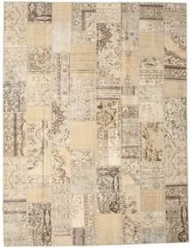 Patchwork Rug 303X397 Authentic  Modern Handknotted Light Brown/Beige Large (Wool, Turkey)