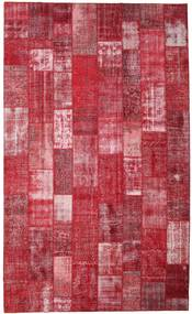 Patchwork Rug 304X504 Authentic  Modern Handknotted Crimson Red/Rust Red Large (Wool, Turkey)