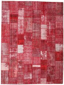 Patchwork Tapis 303X400 Moderne Fait Main Rouge/Rouille/Rouge Grand (Laine, Turquie)