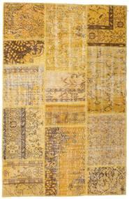 Patchwork Matto 120X186 Moderni Käsinsolmittu Vaaleanruskea/Ruskea (Villa, Turkki)