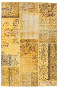 Patchwork Szőnyeg 121X185 Modern Csomózású Világosbarna/Sárga (Gyapjú, Törökország)