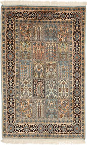 Kashmir pure silk carpet AXVZB16