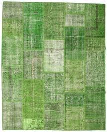 Patchwork Matto 203X251 Moderni Käsinsolmittu Vaaleanvihreä/Pastellinvihreä (Villa, Turkki)