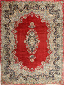 Kerman Rug 295X396 Authentic  Oriental Handknotted Light Brown/Rust Red Large (Wool, Persia/Iran)