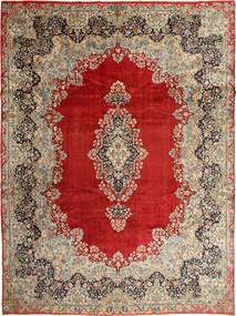 Kerman Matto 295X396 Itämainen Käsinsolmittu Vaaleanruskea/Ruoste Isot (Villa, Persia/Iran)