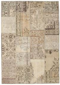 Patchwork Rug 163X231 Authentic  Modern Handknotted Light Brown/Beige (Wool, Turkey)