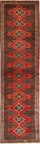 Senneh Covor 98X385 Orientale Lucrat Manual Roșu-Închis/Maro Închis (Lână, Persia/Iran)