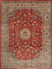 Mahal Matto 270X363 Itämainen Käsinsolmittu Tummanpunainen/Vaaleanruskea Isot (Villa, Persia/Iran)