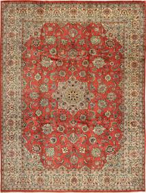 サルーク 絨毯 265X360 オリエンタル 手織り 薄茶色/錆色 大きな (ウール, ペルシャ/イラン)