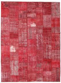 Patchwork Szőnyeg 273X366 Modern Csomózású Piros/Rozsdaszín Nagy (Gyapjú, Törökország)