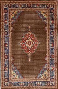 Koliai Teppich  200X322 Echter Orientalischer Handgeknüpfter Dunkelbraun/Dunkelgrau (Wolle, Persien/Iran)