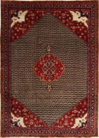 コリアイ 絨毯 212X295 オリエンタル 手織り 深紅色の/濃い茶色 (ウール, ペルシャ/イラン)