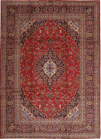 Keshan Teppe 254X350 Ekte Orientalsk Håndknyttet Brun/Mørk Rød Stort (Ull, Persia/Iran)