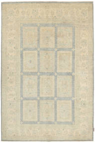 Ziegler Rug 161X250 Authentic  Oriental Handknotted Dark Beige (Wool, Pakistan)