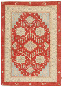 Ziegler Rug 151X203 Authentic  Oriental Handknotted Rust Red/Beige (Wool, Pakistan)