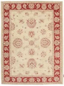 Ziegler Teppich 153X201 Echter Orientalischer Handgeknüpfter Hellbraun/Beige (Wolle, Pakistan)