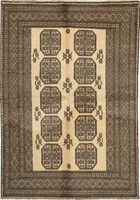 Afghan Natural Rug 164X235 Authentic Oriental Handknotted Light Brown/Dark Brown (Wool, Afghanistan)
