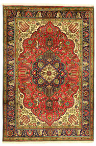 Tabriz Rug 208X304 Authentic  Oriental Handknotted (Wool, Persia/Iran)