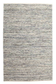 Pebbles - Grey/Blue Mix Rug 200X300 Authentic  Modern Handwoven Light Grey/Dark Beige ( India)