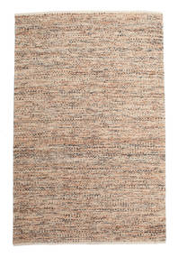 Pebbles - Multi Rug 200X300 Authentic  Modern Handwoven Light Grey/Dark Brown ( India)