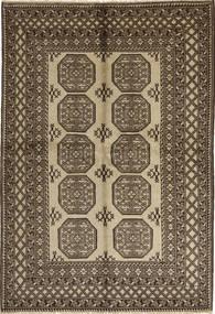 Afghan Natural Rug 165X243 Authentic Oriental Handknotted Light Brown/Dark Brown (Wool, Afghanistan)