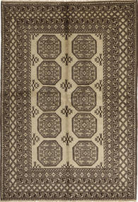 Afghan Natural Teppich 165X243 Echter Orientalischer Handgeknüpfter Hellbraun/Dunkelbraun (Wolle, Afghanistan)