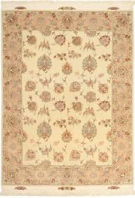 Tabriz#60 Raj 絹の縦糸 絨毯 AXVZC1080