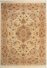 Tabriz#60 Raj silkesvarp matta AXVZC1028