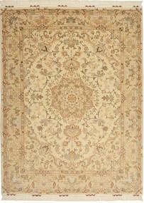 Tabriz#60 Raj silkesvarp matta AXVZC1110