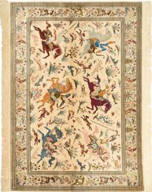 Qum silk carpet AXVZC538