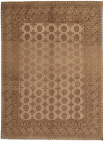 Afghan Rug 191X271 Authentic  Oriental Handknotted Brown/Light Brown (Wool, Afghanistan)