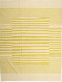 Kelim Moderni Matto 215X289 Moderni Käsinsolmittu Beige/Tummanbeige/Keltainen (Villa, Afganistan)