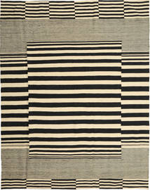 Kilim Modern Rug 188X240 Authentic Modern Handknotted Black/Olive Green/Beige (Wool, Afghanistan)
