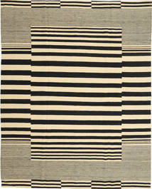 Kilim Moderne Tapis 185X234 Moderne Fait Main Noir/Beige/Vert Olive (Laine, Afghanistan)