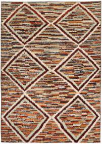 Barchi/Moroccan Berber Alfombra 194X285 Moderna Hecha A Mano Marrón Oscuro/Beige Oscuro (Lana, Afganistán)